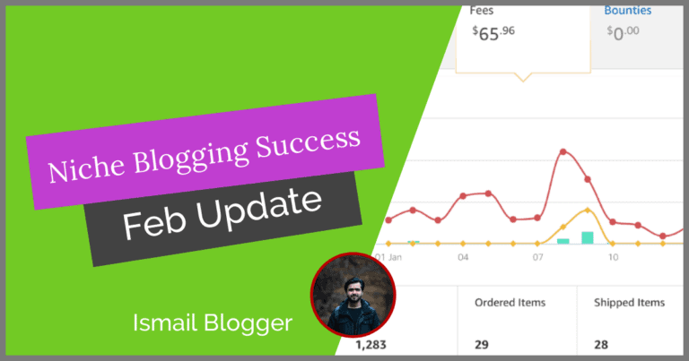 Niche Site Project 1 Update (January 2nd month) -IsmailBlogger