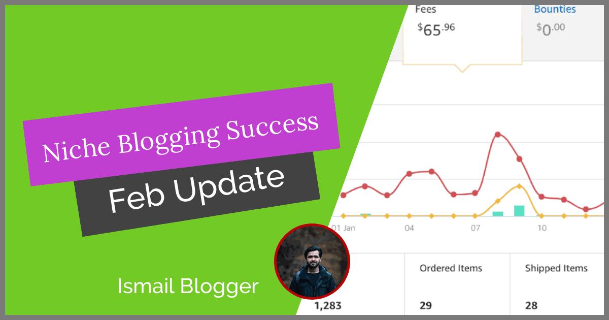 niche blogging Success project 2