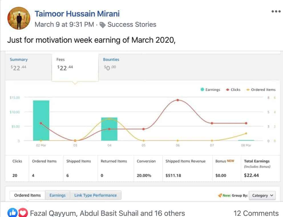 amazon affiliate in pakistan